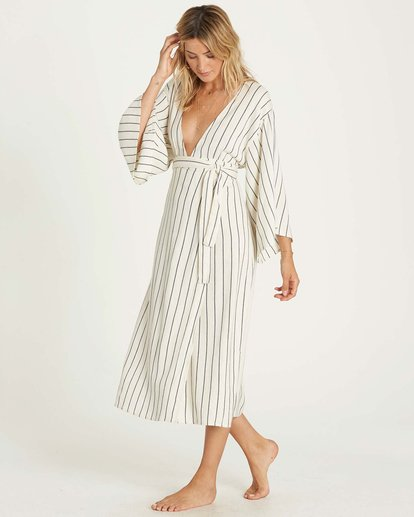2 Robe Life Dress Beige JD15NBRO Billabong