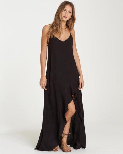 1 Kick It Up Maxi Dress Black JD15QBKI Billabong