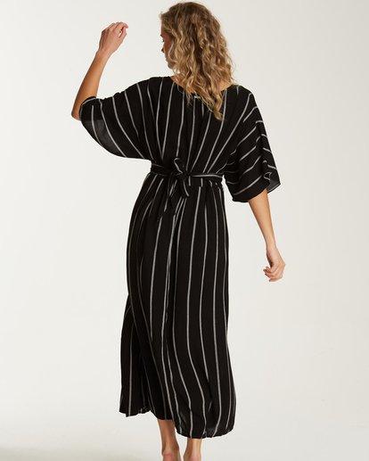 3 Forever Fine Midi Dress Black JD15TBFN Billabong