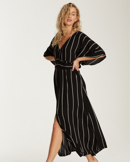 2 Forever Fine Midi Dress Black JD15TBFN Billabong