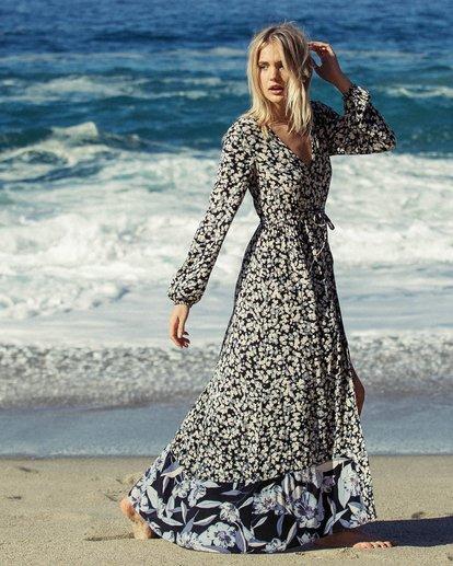 0 Allegra Kimono Dress Black JD16NBAB Billabong