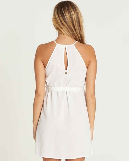 3 Aloha Baby Wrap Dress White JD16PBAL Billabong
