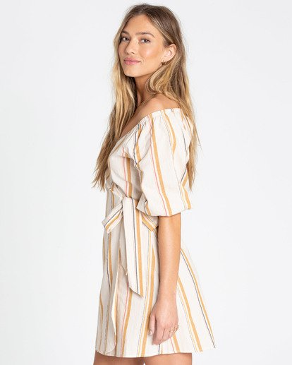 2 Best Dressed Wrap Dress White JD16TBBE Billabong