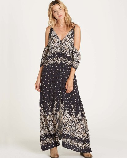 0 Desert Dance Dress Black JD18LDES Billabong