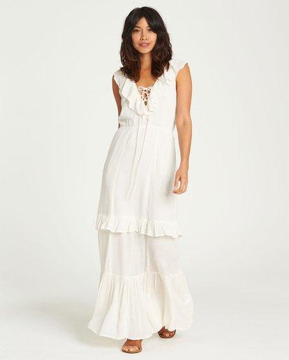 1 Romance Row Dress Beige JD18NBRO Billabong