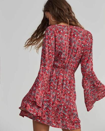 3 Night Fever Printed Mini Dress  JD19SBNI Billabong