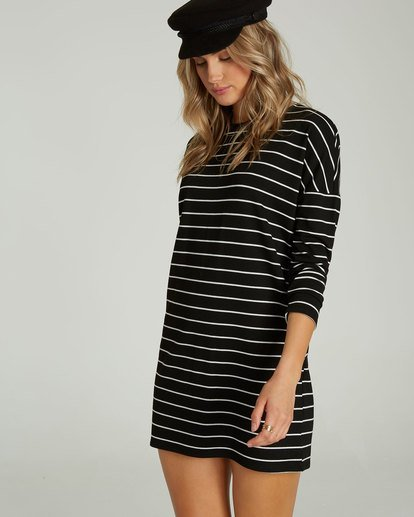 1 Simply Put Shirt Dress Black JD22QBSI Billabong