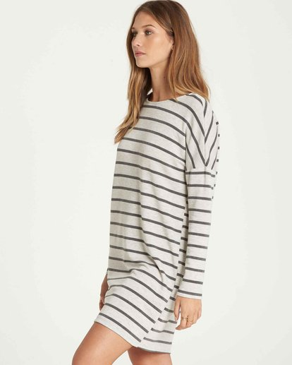 1 Simply Put Shirt Dress Grey JD22QBSI Billabong
