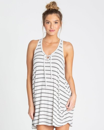 0 Easy Dreamin Tank Dress Beige JD23TBEA Billabong