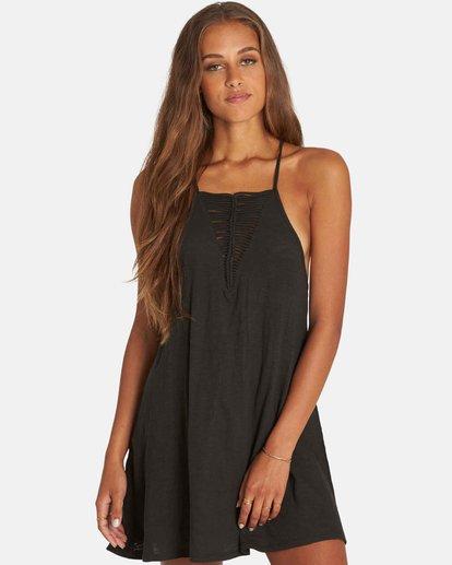 0 Ray Me Swing Mini Dress Black JD24PBRA Billabong