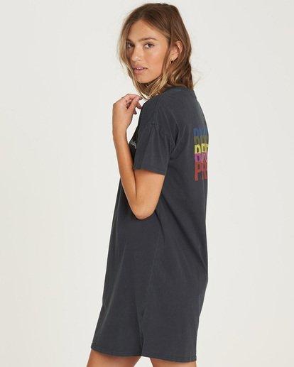 1 Last Quarter Shirt Dress Black JD24QBLA Billabong