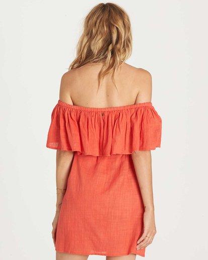 2 Mi Bonita Dress Red JD26KMIB Billabong