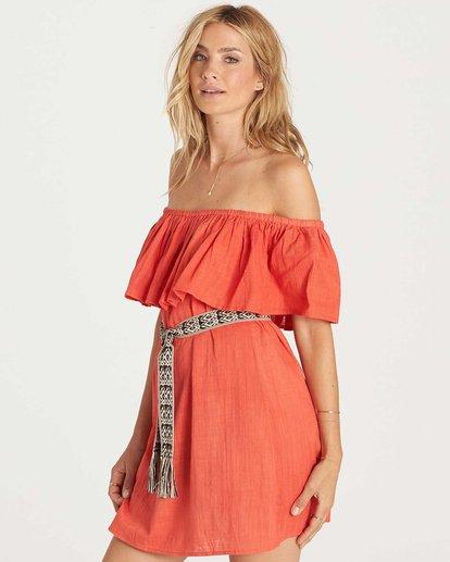 1 Mi Bonita Dress Red JD26KMIB Billabong