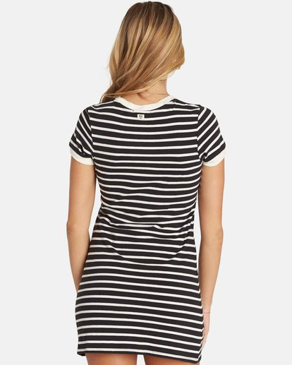 2 Go Around Mini Dress Black JD27PBGO Billabong