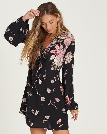 1 Pretty Please Mini Dress Black JD27QBPR Billabong