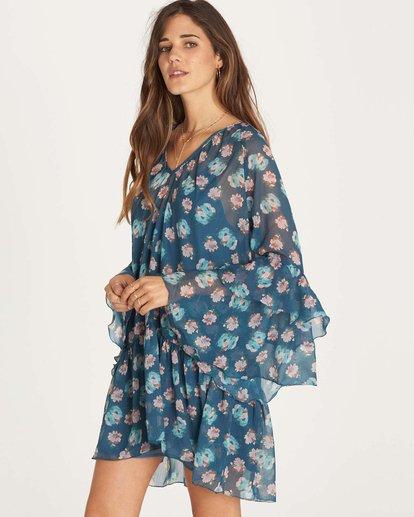 1 Stevie Sunday Dress Blue JD28LSTE Billabong
