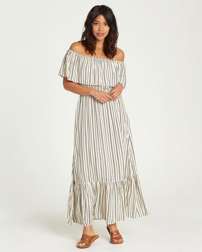 1 Island Vibes Dress White JD28NBIS Billabong