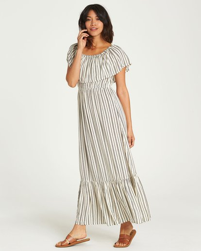 3 Island Vibes Dress White JD28NBIS Billabong