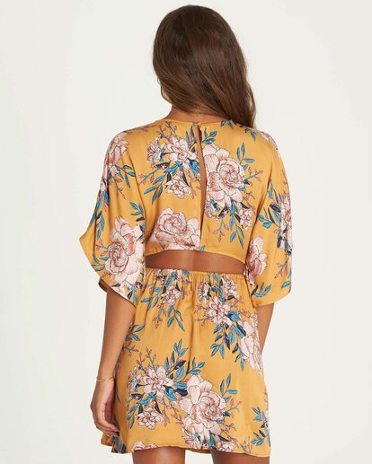 3 Golden Light Dress  JD32NBGO Billabong