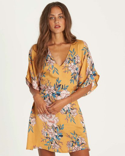 1 Golden Light Dress  JD32NBGO Billabong