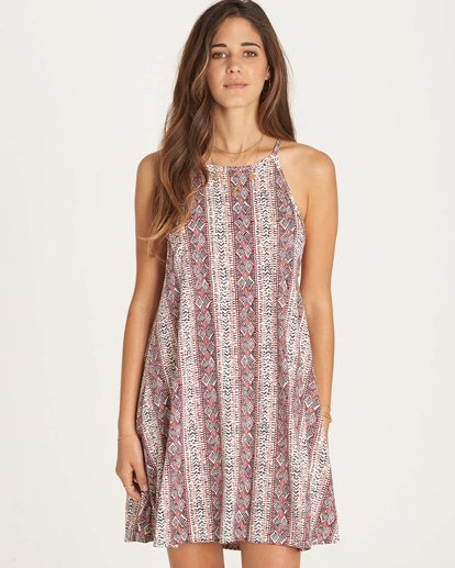 0 Sing Along Dress White JD35LSIN Billabong