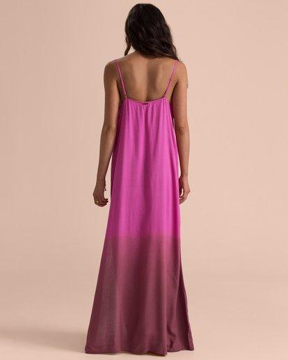 2 Sincerely Jules High Point Slip Maxi Dress Pink JD35TBHI Billabong