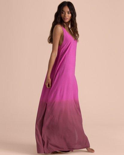 1 Sincerely Jules High Point Slip Maxi Dress Pink JD35TBHI Billabong