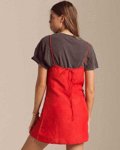 2 Take It On Mini Dress Red JD39PBTA Billabong