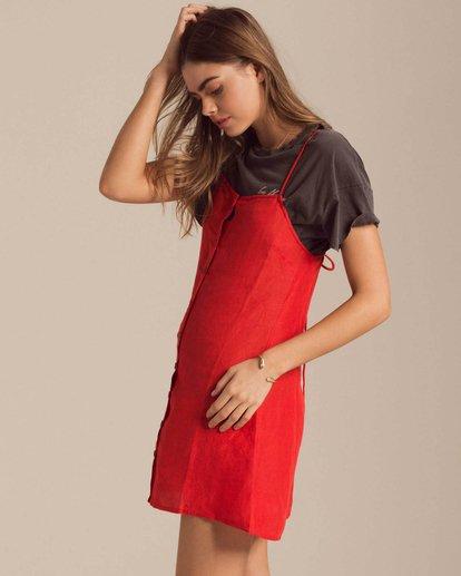 1 Take It On Mini Dress Red JD39PBTA Billabong