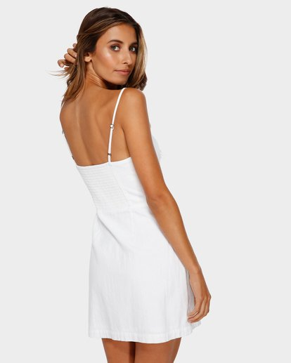 2 Franca Mini Dress White JD80TBFR Billabong