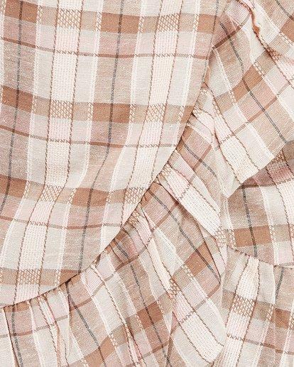 3 Santos Wrap Mini Dress Pink JD80TBSA Billabong
