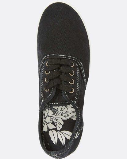 4 Addy Lace Up Shoe Black JFCTQBAD Billabong