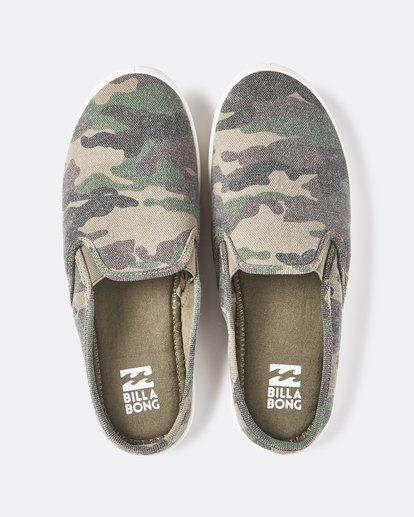 0 Be Free Slip-On Shoe Camo JFCTQBBE Billabong