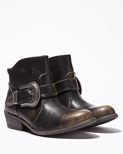 0 Buckle Up Ankle Boot Black JFCTQBBU Billabong
