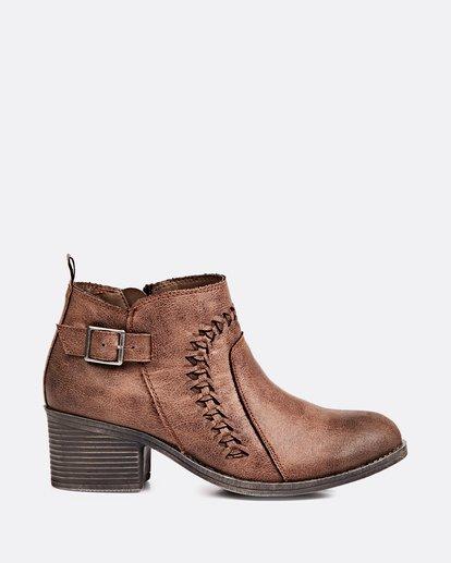3 Take A Walk Ankle Boot Brown JFCTQBTA Billabong