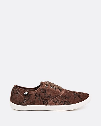3 Addy 2 Low Top Shoes Brown JFCTSBAD Billabong