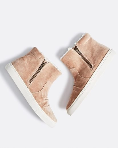 0 Sweet Spot High Top Shoes Beige JFCTSBSW Billabong