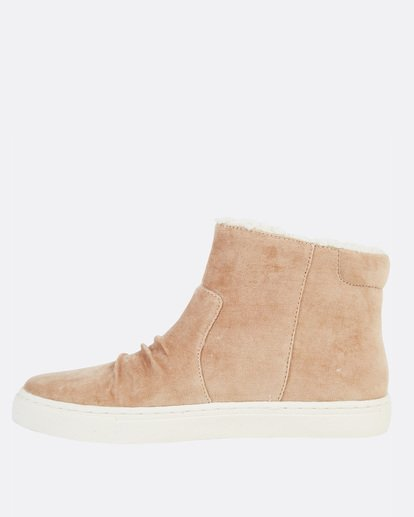 2 Sweet Spot High Top Shoes Beige JFCTSBSW Billabong