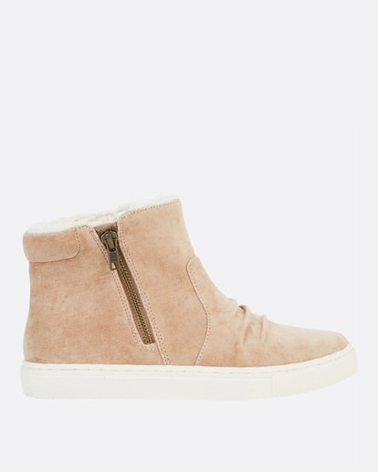 1 Sweet Spot High Top Shoes Beige JFCTSBSW Billabong