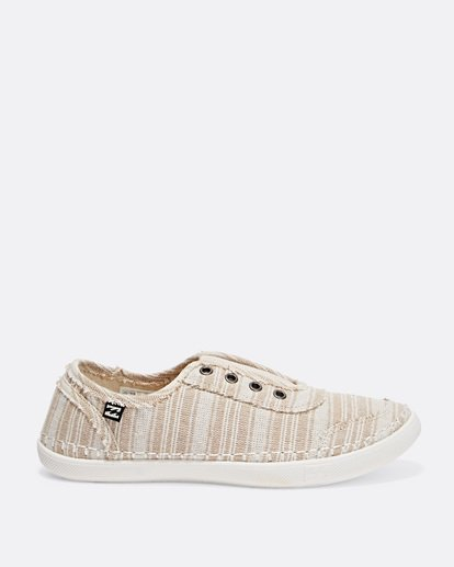 0 Cruiser Slip-On Canvas Shoes Beige JFCTTBCR Billabong