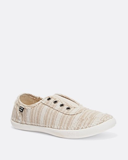 2 Cruiser Slip-On Canvas Shoes Beige JFCTTBCR Billabong
