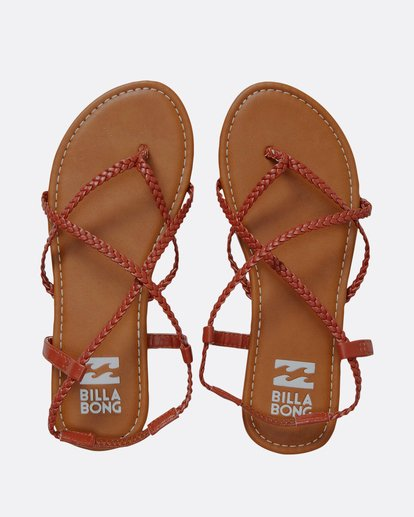 0 Crossing Over Sandal Red JFOTNBCR Billabong