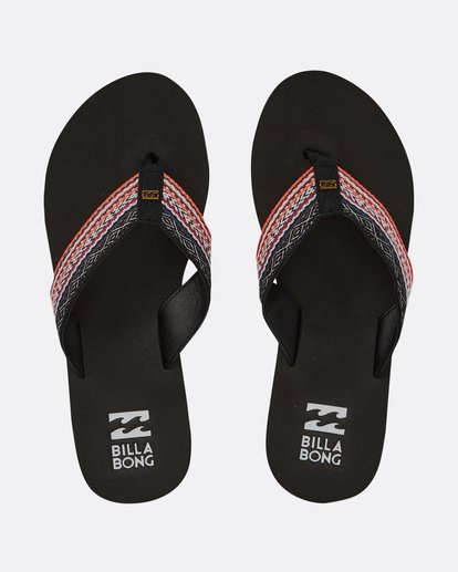 0 Baja Sandals Black JFOTPBBA Billabong