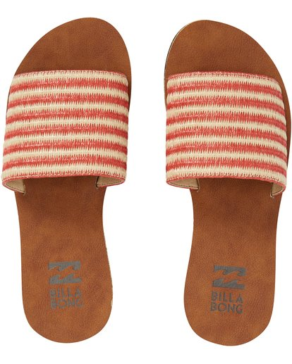 4 Horizon Slide Sandal Orange JFOTPBHO Billabong