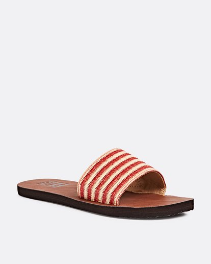 2 Horizon Slide Sandal Orange JFOTPBHO Billabong