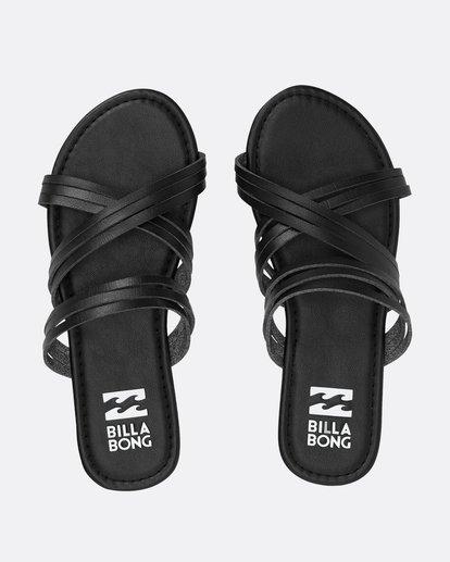 0 Sandy Toes Slide Sandal Black JFOTPBSA Billabong