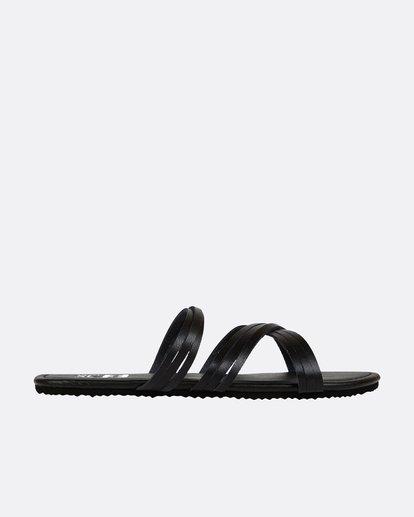 3 Sandy Toes Slide Sandal Black JFOTPBSA Billabong