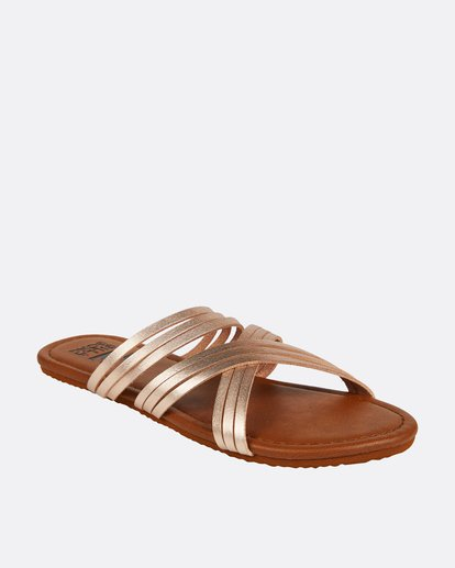 2 Sandy Toes Slide Sandal Pink JFOTPBSA Billabong