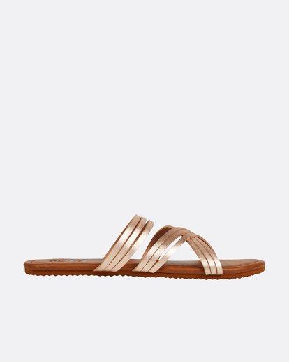 3 Sandy Toes Slide Sandal Pink JFOTPBSA Billabong