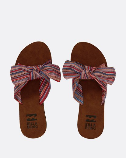 0 Tied Up Slide Sandal Blue JFOTPBTI Billabong